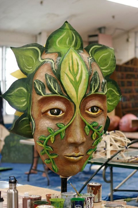 """Forest Goddess I"" Play: The Serpent's Egg, Paperhand Puppet Theater"